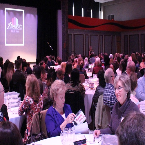 Guests gather at the Peace of the City annual benefit