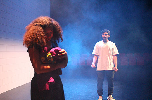 Rashed performs a lead role in Peace of the City's production of Anonymous