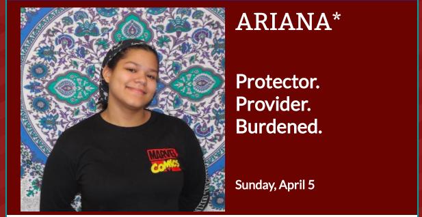 Headshot of Ariana for her Ordinary Resurrections monologue